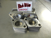 BWD 304SS header/manifold flanges